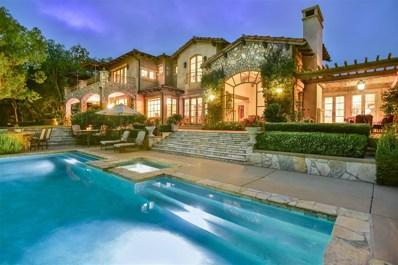 18356 Calle La Serra, Rancho Santa Fe, CA 92091 - MLS#: 170036058