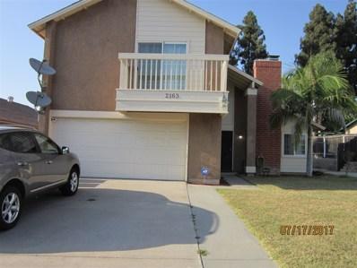 2163 Fowler Dr, San Diego, CA 92139 - MLS#: 170037564