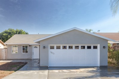 3533 Grand Ave, San Marcos, CA 92078 - MLS#: 170037623