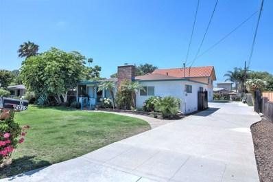 2015 Stewart St, Oceanside, CA 92054 - MLS#: 170039994