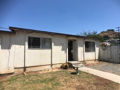 1427 Five D Dr, El Cajon, CA 92021 - MLS#: 170041714