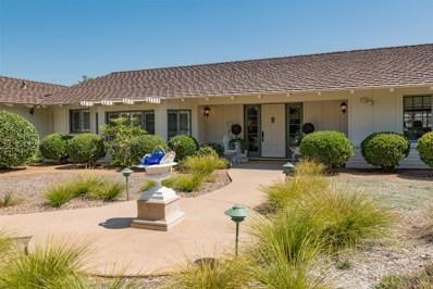 18185 Via Ascenso, Rancho Santa Fe, CA 92067 - MLS#: 170041871
