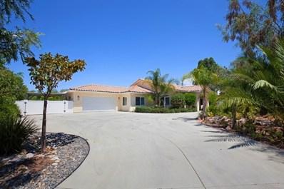 935 Via Hillview, Fallbrook, CA 92028 - MLS#: 170042586