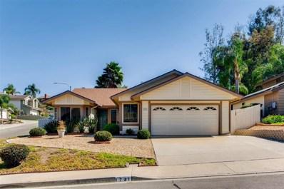1731 Porterfield Pl, El Cajon, CA 92019 - MLS#: 170043723