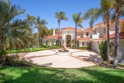 17138 Calle Serena, Rancho Santa Fe, CA 92067 - MLS#: 170046190