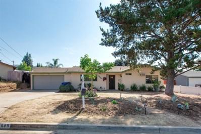 13449 Sebago Ave, Poway, CA 92064 - MLS#: 170046352