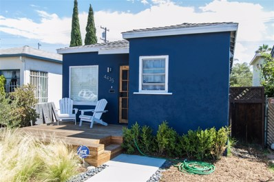 4435 Central Ave., San Diego, CA 92116 - MLS#: 170047176