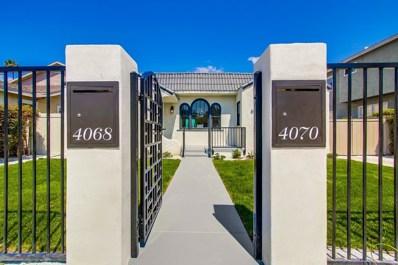 4068-4070 Monroe, San Diego, CA 92116 - MLS#: 170047359