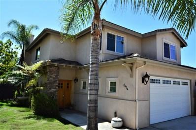 8474 Sheila St, El Cajon, CA 92021 - MLS#: 170047845