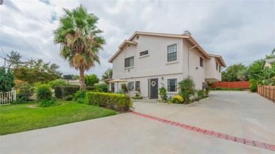 434 Richfield Ave UNIT 1, El Cajon, CA 92020 - MLS#: 170049908
