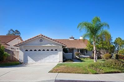 345 E Indian Rock Rd, Vista, CA 92084 - MLS#: 170050267