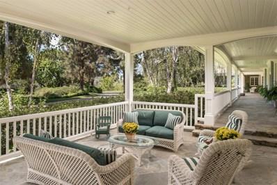 17461 Avenida De Acacias, Rancho Santa Fe, CA 92067 - MLS#: 170051262