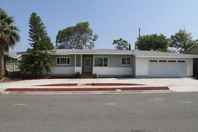 5164 Walsh Way, San Diego, CA 92115 - MLS#: 170051951