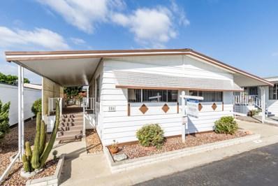 650 S Rancho Santa Fe Rd UNIT 186, San Marcos, CA 92078 - MLS#: 170052091