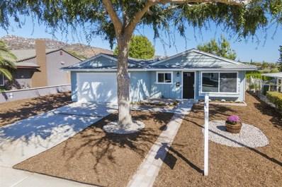 10303 Woodpark Drive, Santee, CA 92071 - MLS#: 170052383