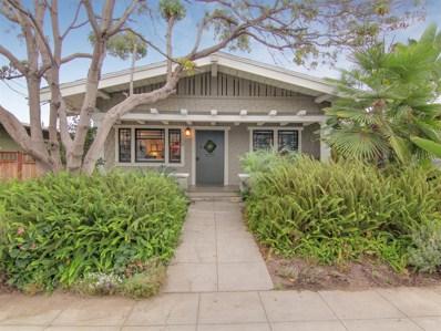 1009 Hunter St, San Diego, CA 92103 - MLS#: 170053405