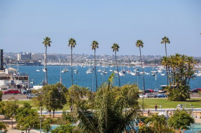 1431 Pacific Hwy UNIT 513, San Diego, CA 92101 - MLS#: 170053663