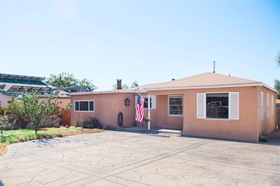 9029 Rosedale Dr., Spring Valley, CA 91977 - MLS#: 170053717