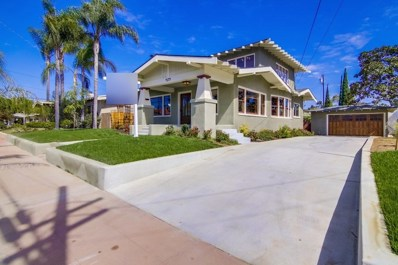 4179 Palmetto Way, San Diego, CA 92103 - MLS#: 170053764