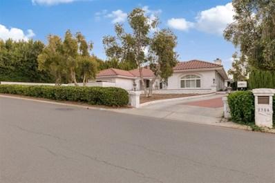 2386 Prince Way, Vista, CA 92084 - MLS#: 170054578