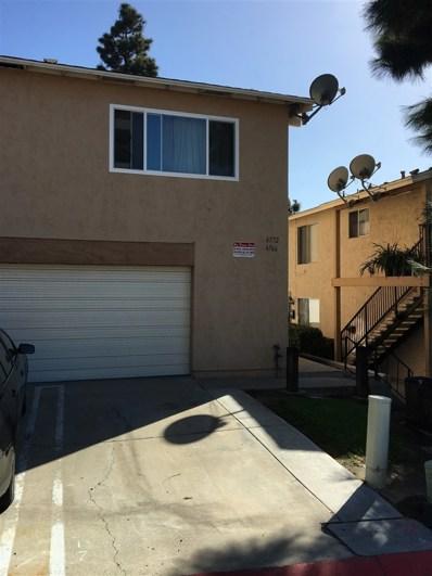 6572 Pinecone Ln, San Diego, CA 92139 - MLS#: 170055093