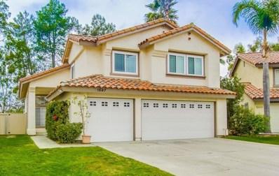 1597 Madrid Dr, Vista, CA 92081 - MLS#: 170055152