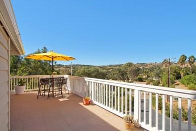 1020 Vista Valle Camino, Fallbrook, CA 92028 - MLS#: 170055319