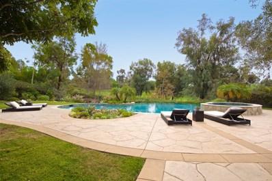 6673 Calle Ponte Bella, Rancho Santa Fe, CA 92091 - MLS#: 170055648