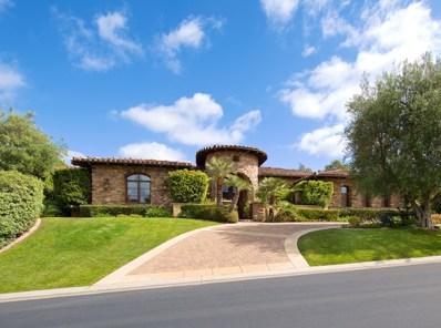 18463 Calle La Serra, Rancho Santa Fe, CA 92091 - MLS#: 170056960