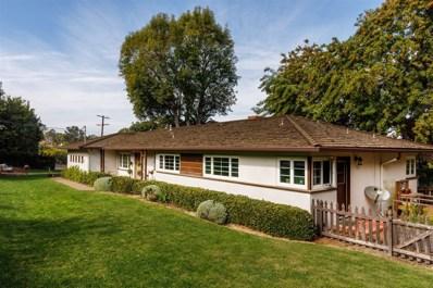 16919 Mimosa, Rancho Santa Fe, CA 92067 - MLS#: 170057268