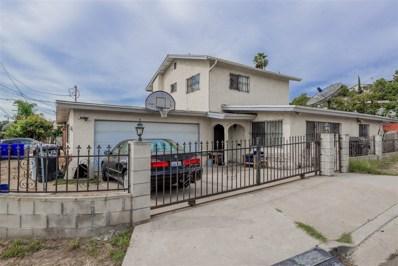 3403 Mina St., San Diego, CA 92105 - MLS#: 170057404