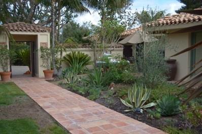 5620 La Sencilla Ln, Rancho Santa Fe, CA 92067 - MLS#: 170057578
