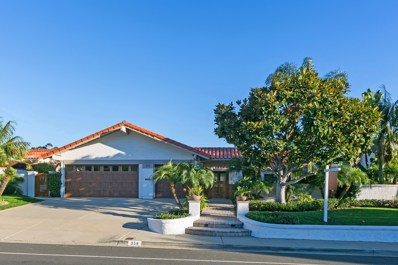 350 Santa Helena, Solana Beach, CA 92075 - MLS#: 170058278