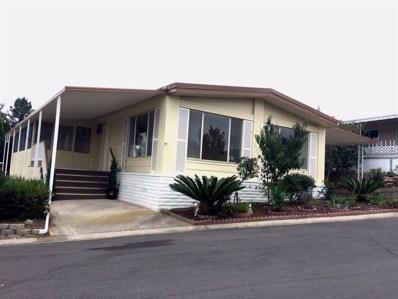 1219 E Barham Dr UNIT SPC 63A, San Marcos, CA 92078 - MLS#: 170059057