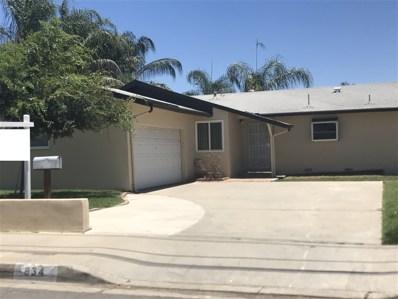 834 N Beech Street, Escondido, CA 92026 - MLS#: 170059329