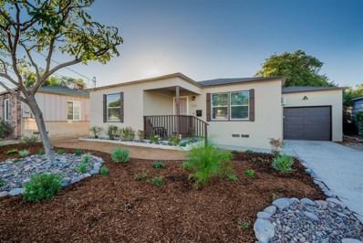 544 Prescott Ave, El Cajon, CA 92020 - MLS#: 170059942