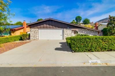 6926 Monte Verde Drive, San Diego, CA 92119 - MLS#: 170060514