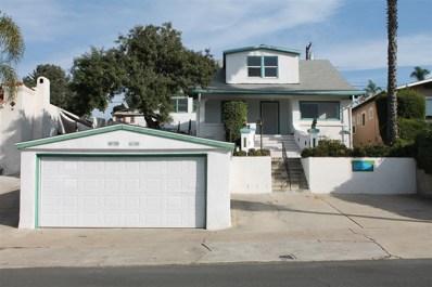 4663 Terrace Dr, San Diego, CA 92116 - MLS#: 170061190