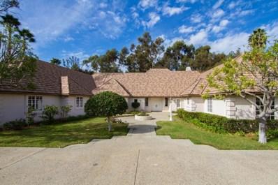 16506 Via Lago Azul, Rancho Santa Fe, CA 92067 - MLS#: 170061358