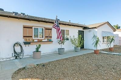 1716 Berrydale St, El Cajon, CA 92021 - MLS#: 170061554