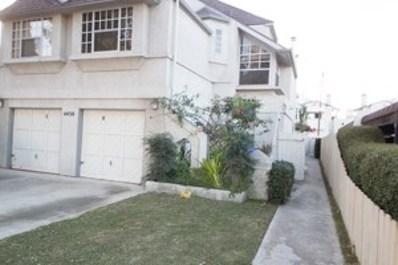 4430 42Nd St UNIT 4, San Diego, CA 92116 - MLS#: 170061645