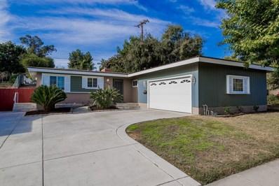 5950 Dugan Ave, La Mesa, CA 91942 - MLS#: 170061653