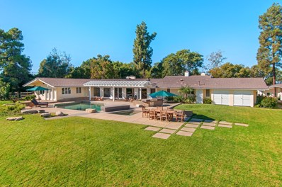 5262 El Mirlo, Rancho Santa Fe, CA 92067 - MLS#: 170061677