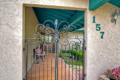 157 Rockhill Rd, Vista, CA 92084 - MLS#: 170062968