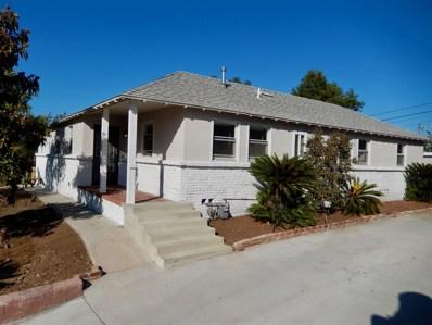 4175 Merritt Blvd, La Mesa, CA 91941 - MLS#: 170063027