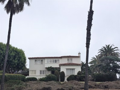1610 Santa Barbara St, San Diego, CA 92107 - MLS#: 180000515