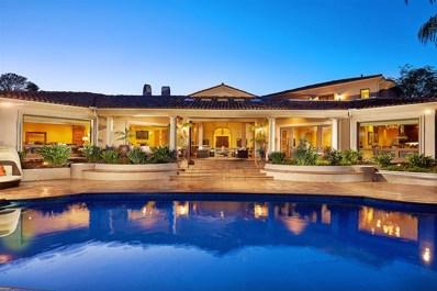 5228 San Elijo, Rancho Santa Fe, CA 92067 - MLS#: 180000791