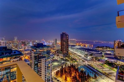 550 Front UNIT 2502, San Diego, CA 92101 - MLS#: 180001014