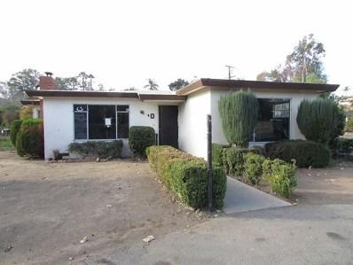 970 Bear Valley Rd, Escondido, CA 92025 - MLS#: 180001528