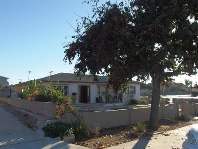 499 Queen Anne Dr, Chula Vista, CA 91911 - MLS#: 180001718